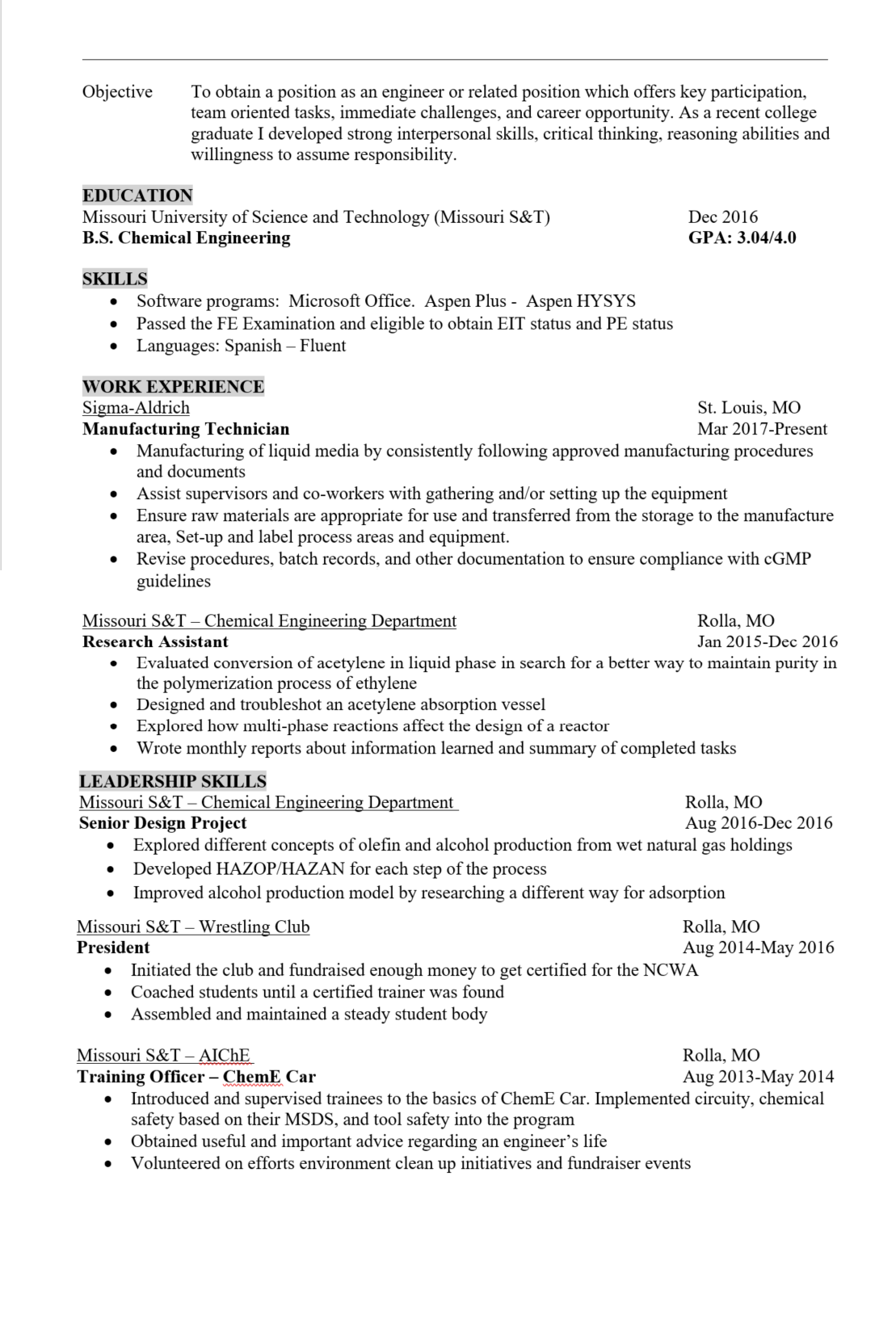 Wrestling Resume Can You Guys Look Over My Resume Thanks In Advance