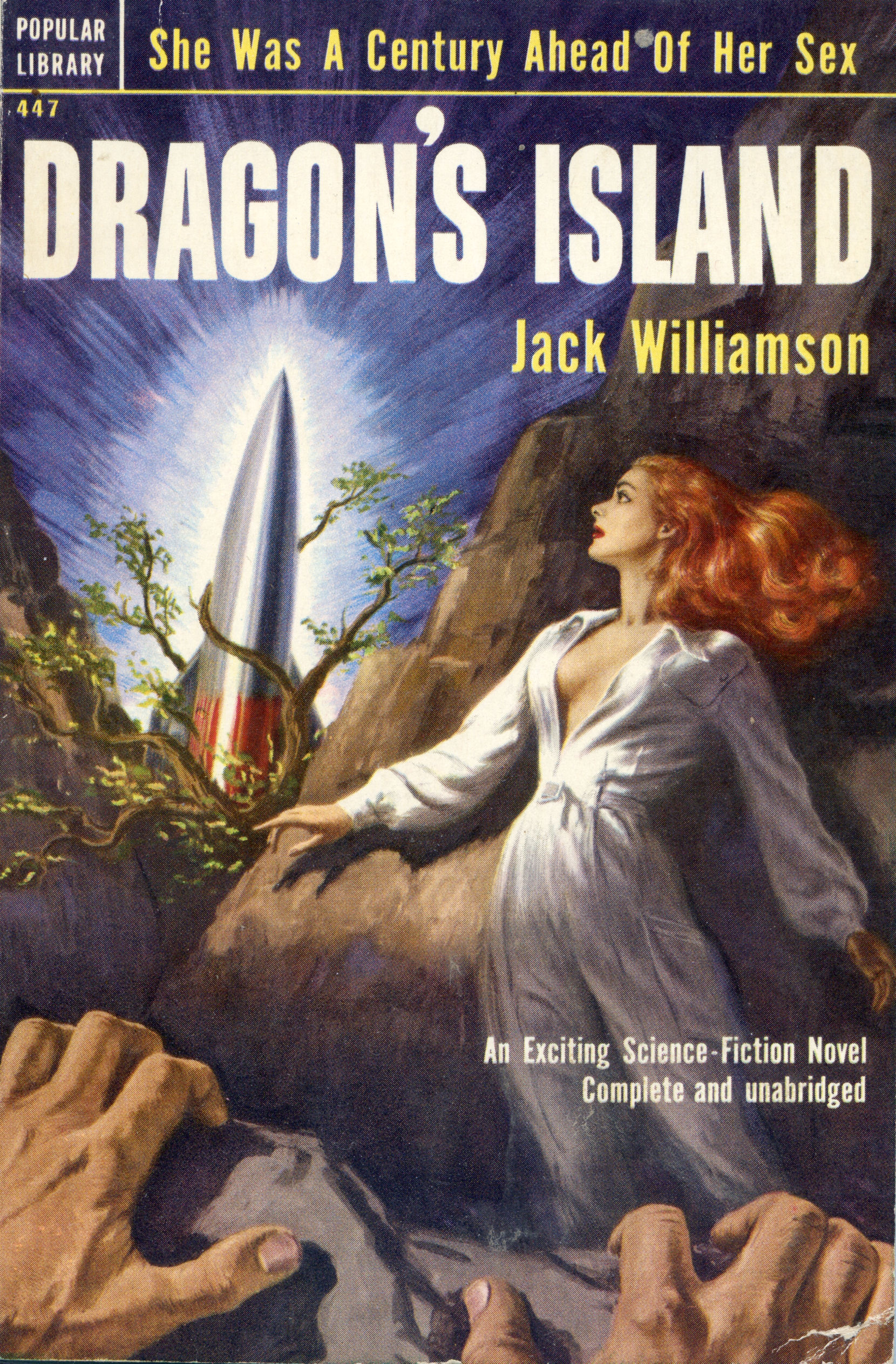 Dragon S Island By Jack Williamson Badscificovers