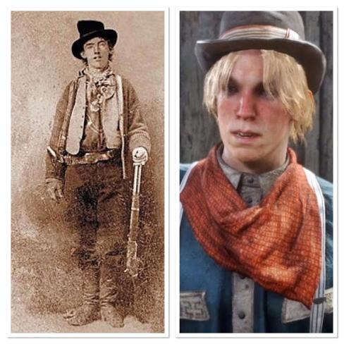 Bildresultat för billy the kid rdr2