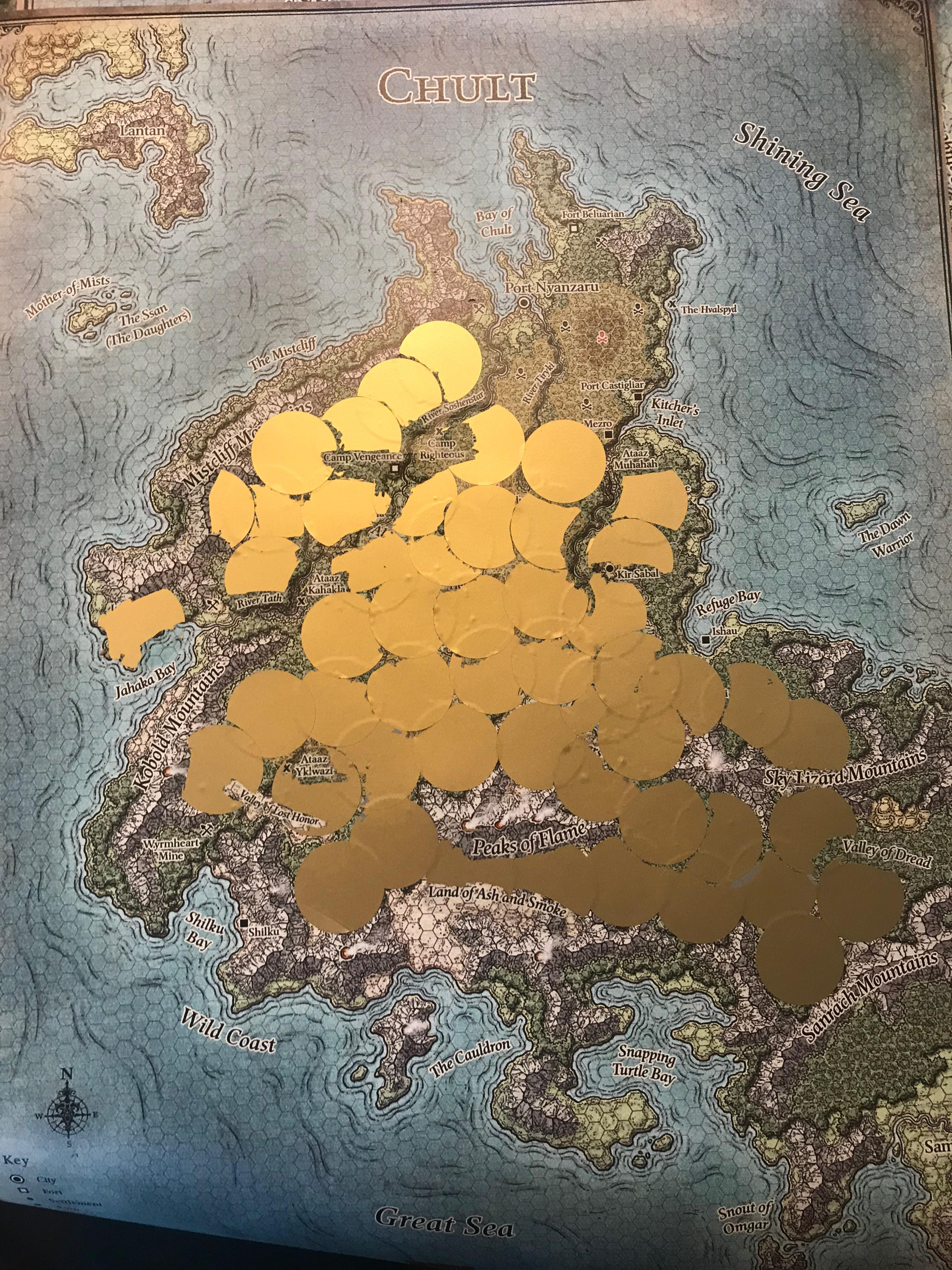Chult Map : chult, Chult, Player, Reveal, Solution, Tombofannihilation