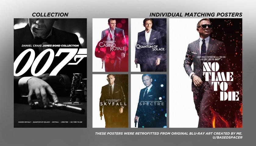 007 The Daniel Craig Collection 4k Ultra HD