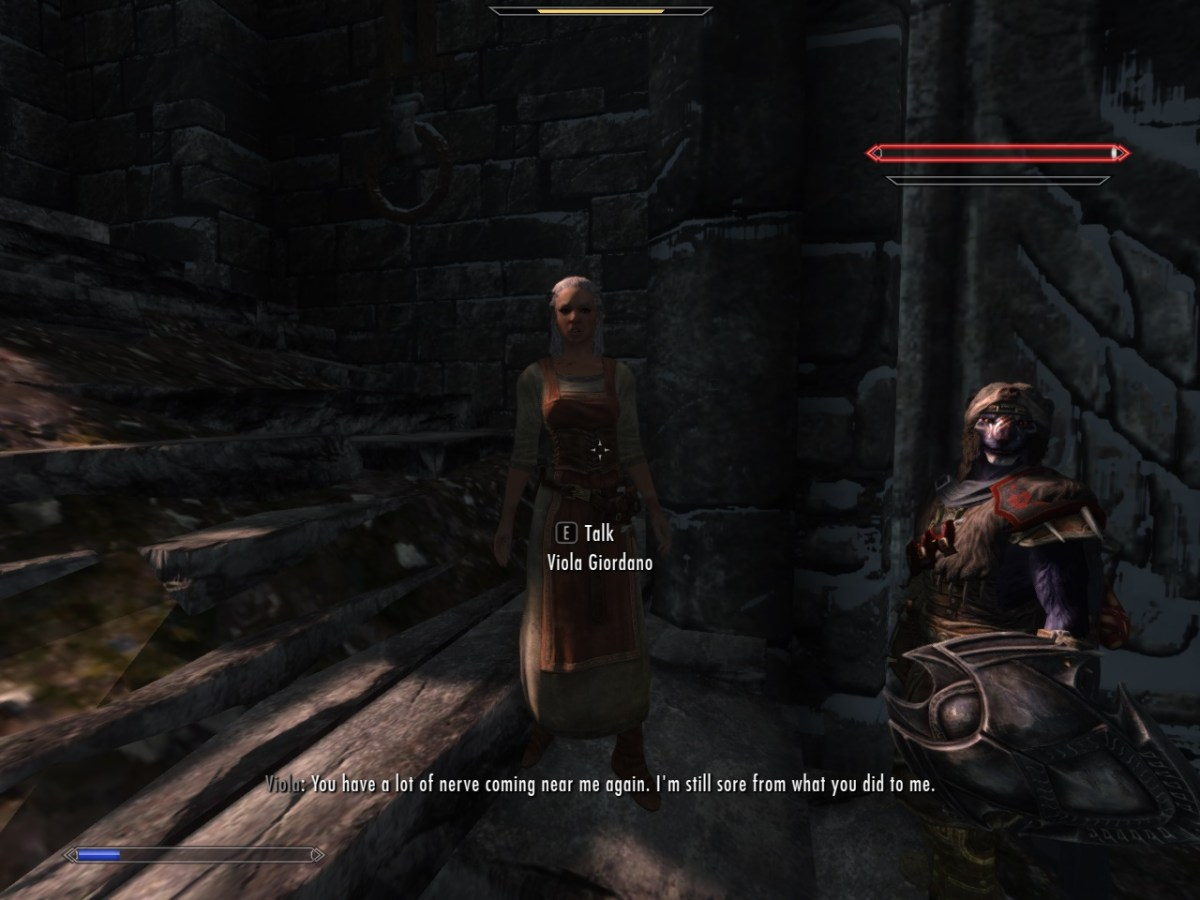 Training Stealth Archery On Essential Npc Leads To Interesting Quotes Skyrim