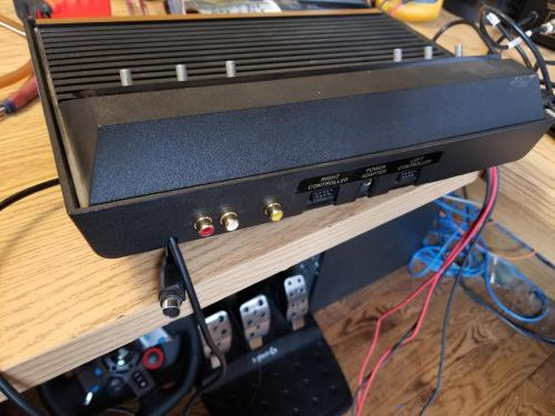 small resolution of  modding just upgraded my atari 2600 for rca svideo very happy with the results