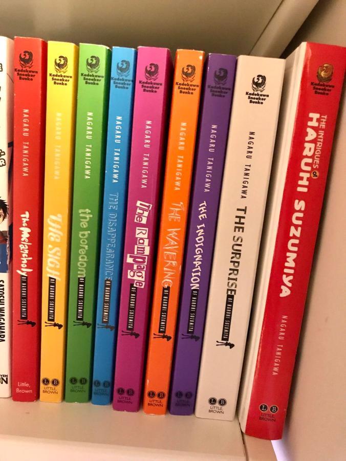 My Haruhi light novel collection!
