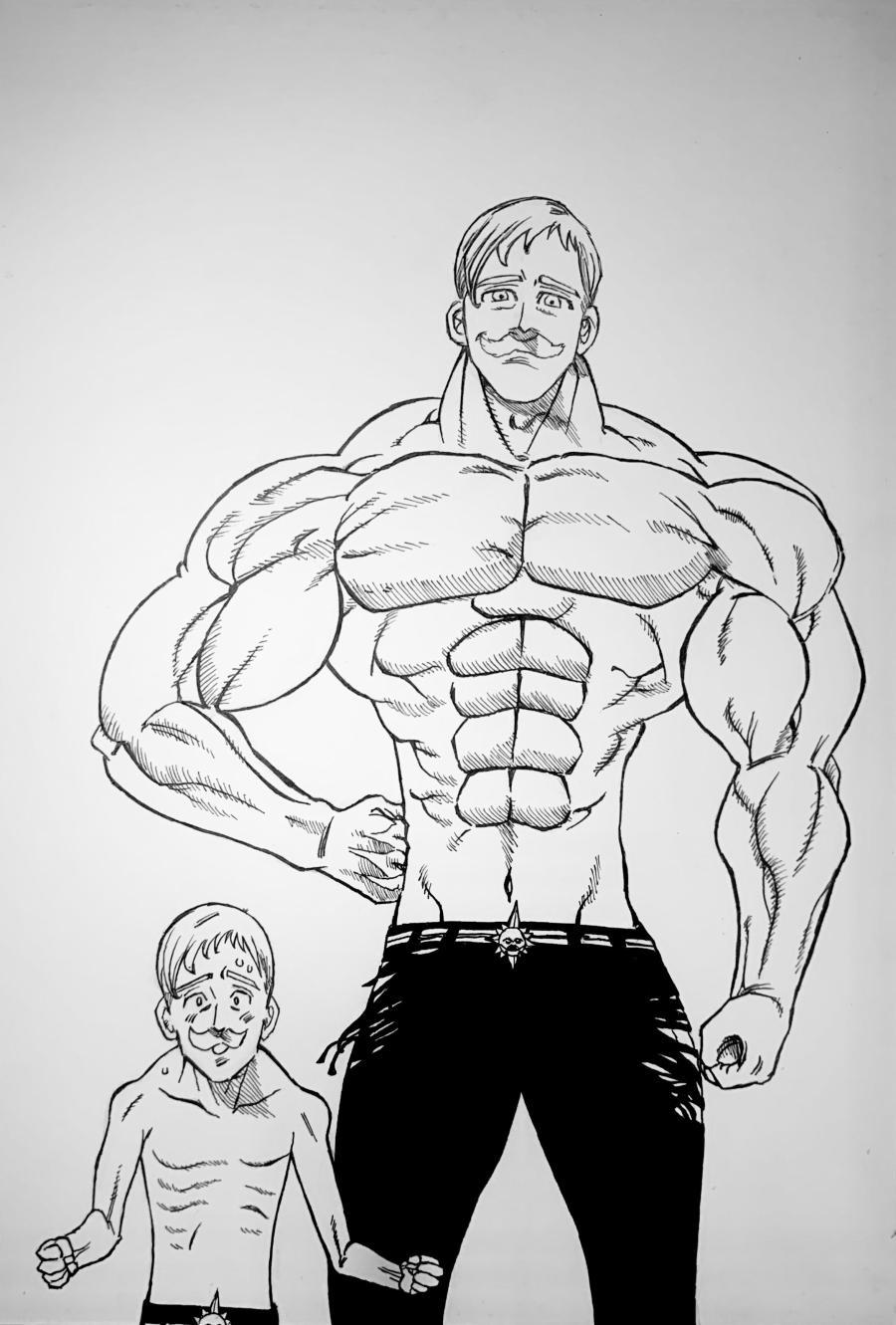 Nanatsu no taizai Escanor drawing, hope you enjoy my work!