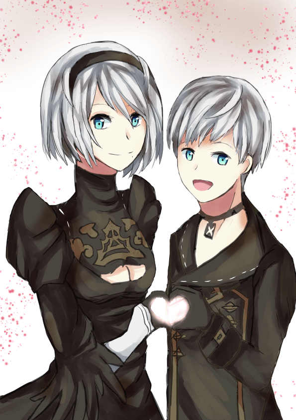 Fanart 2b And 9s