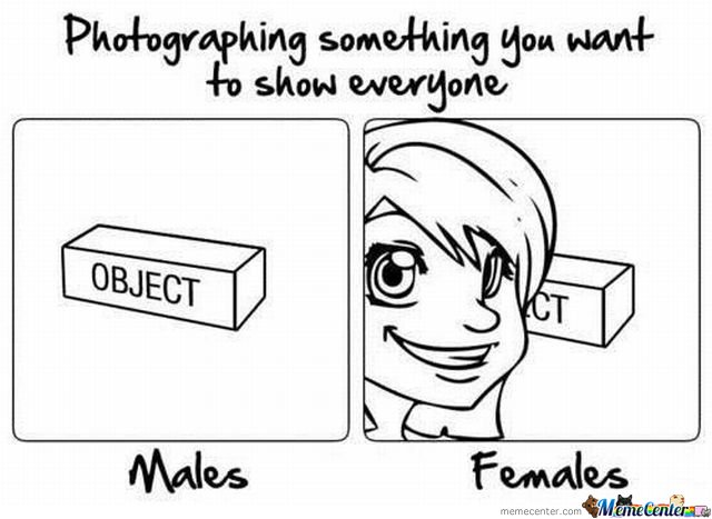 Photographing something you want to show everyone!!! : funny