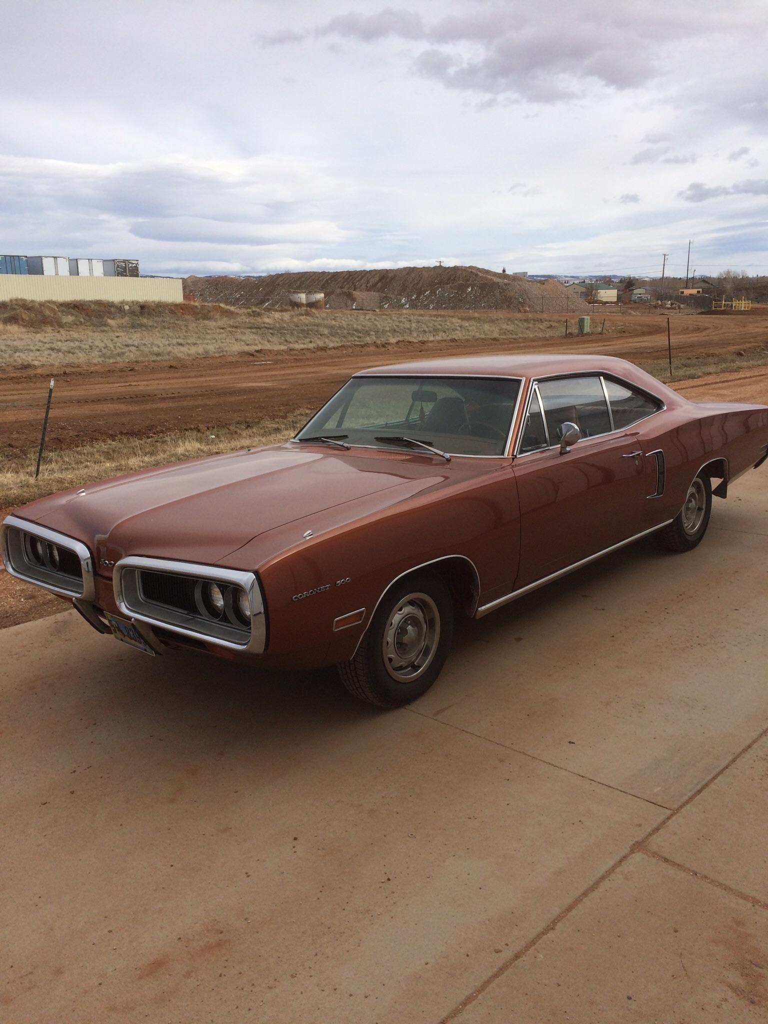 hight resolution of got her out of storage to stretch her legs 70 coronet 500 384 magnum