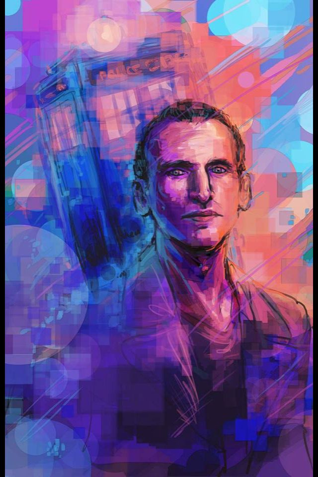Doctor Who Fan Art : doctor, Christopher, Eccleston,, Doctor, Found, Pinterest., Doctorwho