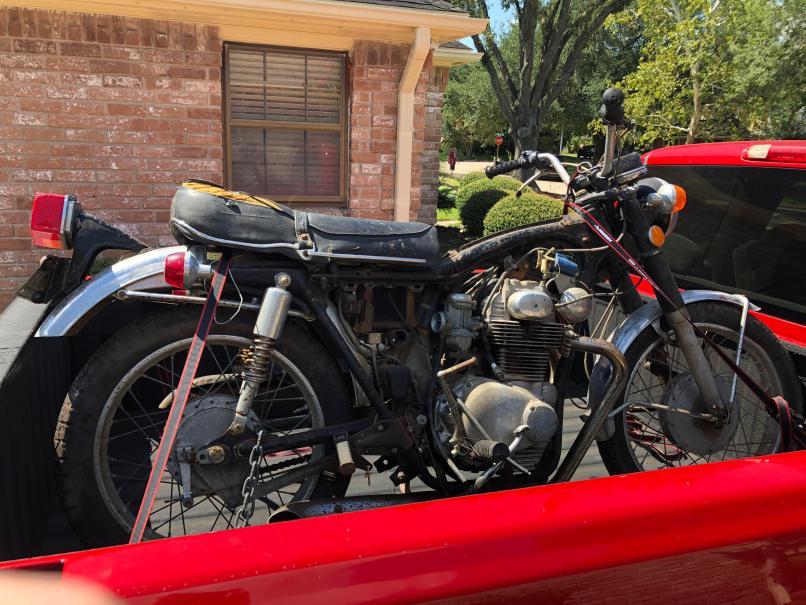 My First Motorcycle Honda Cb350 Plan