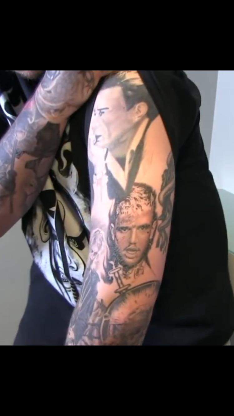 Post Malone Gets Tattoo Of Lil Peep [ViDEO] :: Hip-Hop Lately