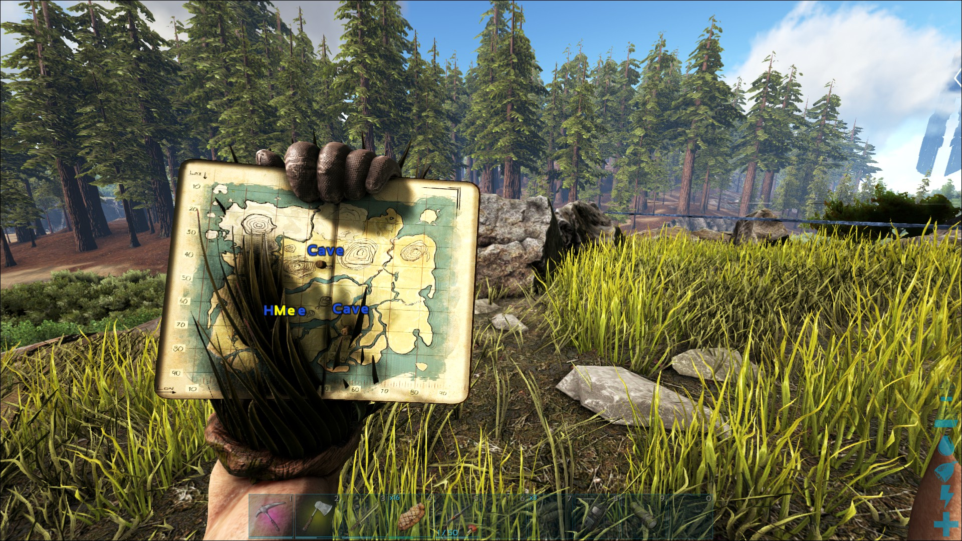 ghillie suits and maps