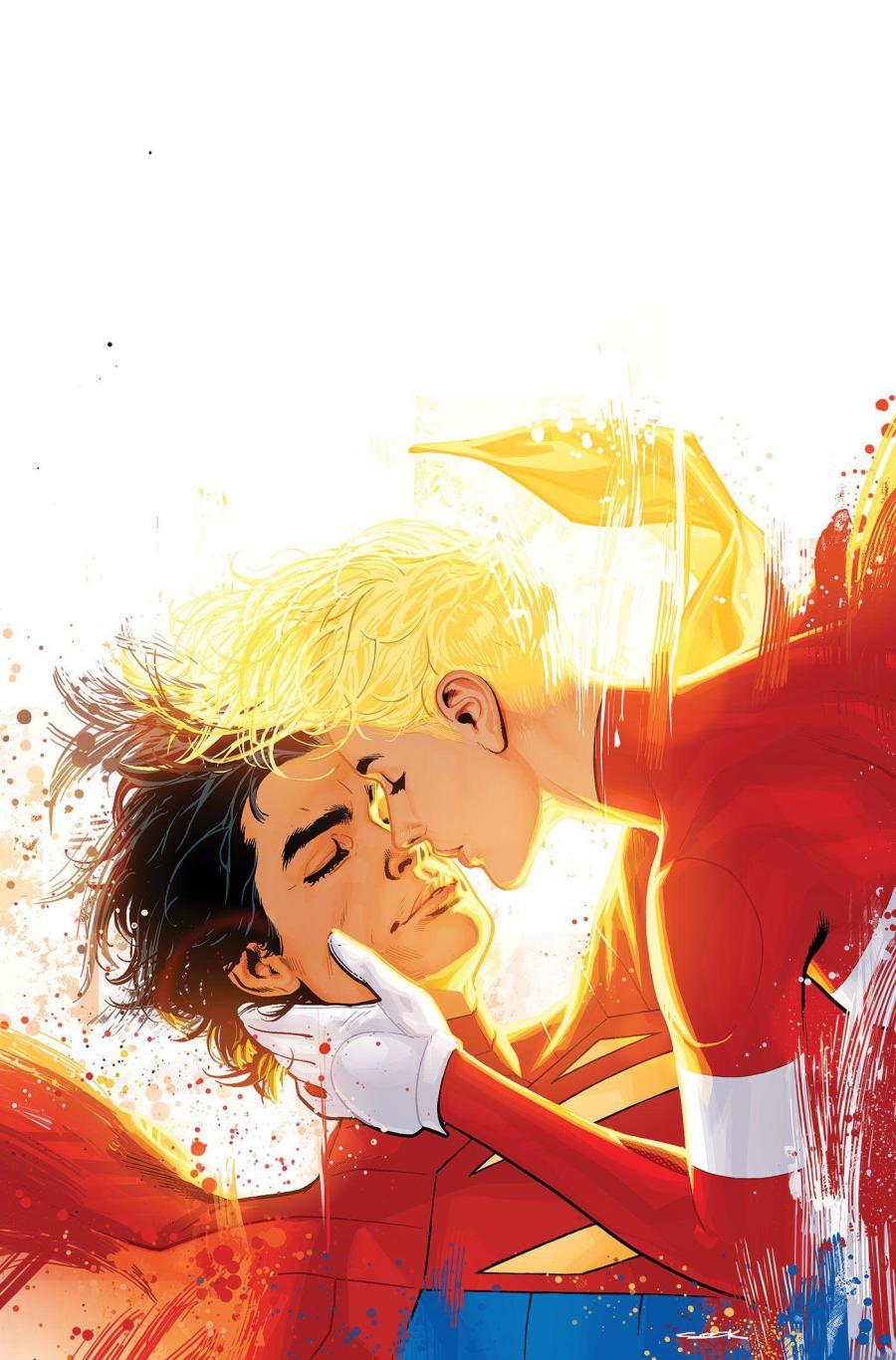 Cover] Legion of Super-Heroes #10 (by Ryan Sook) : DCcomics