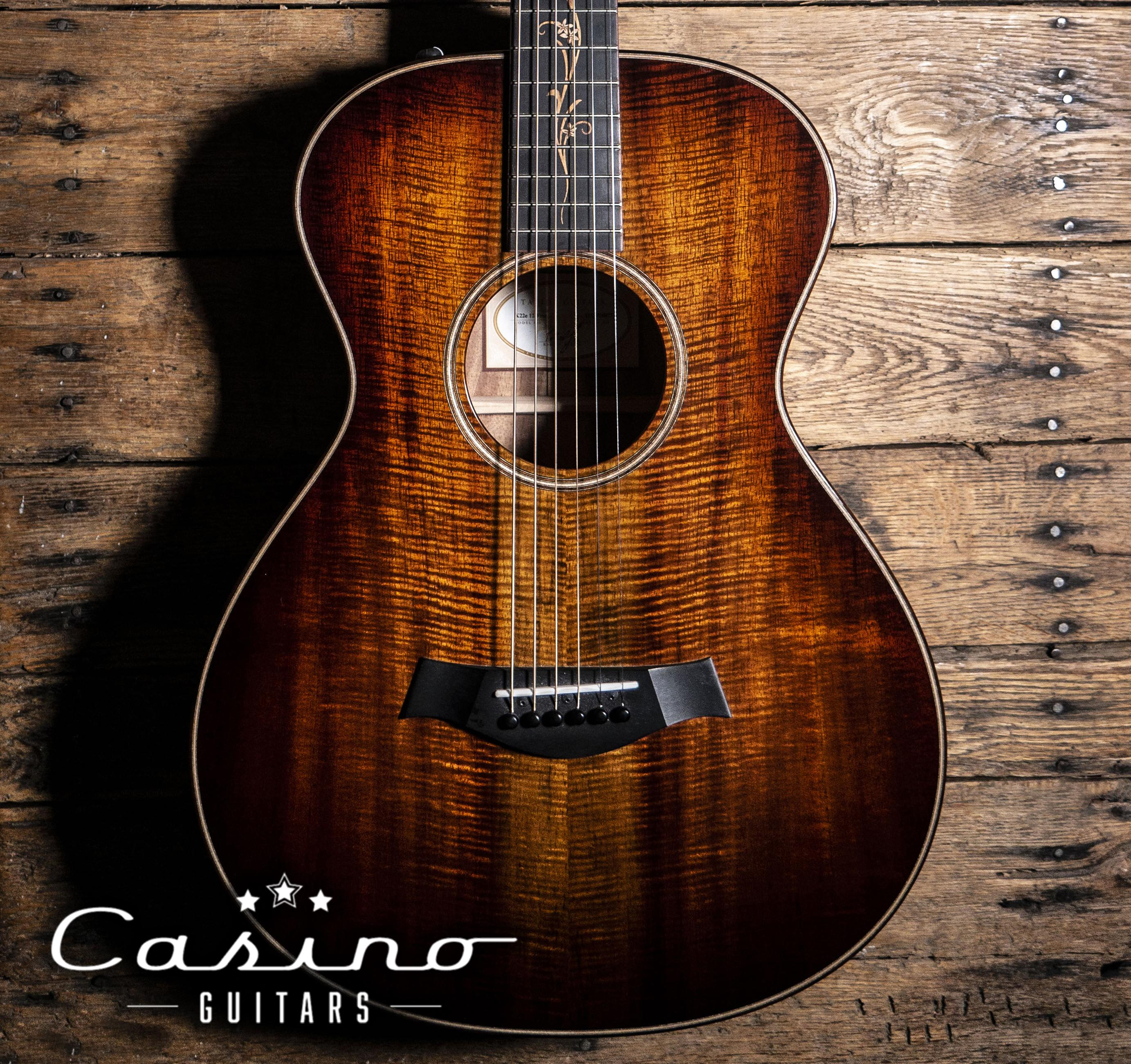 Who has the best sounding Koa guitar? This one is a Taylor K22. : guitarporn