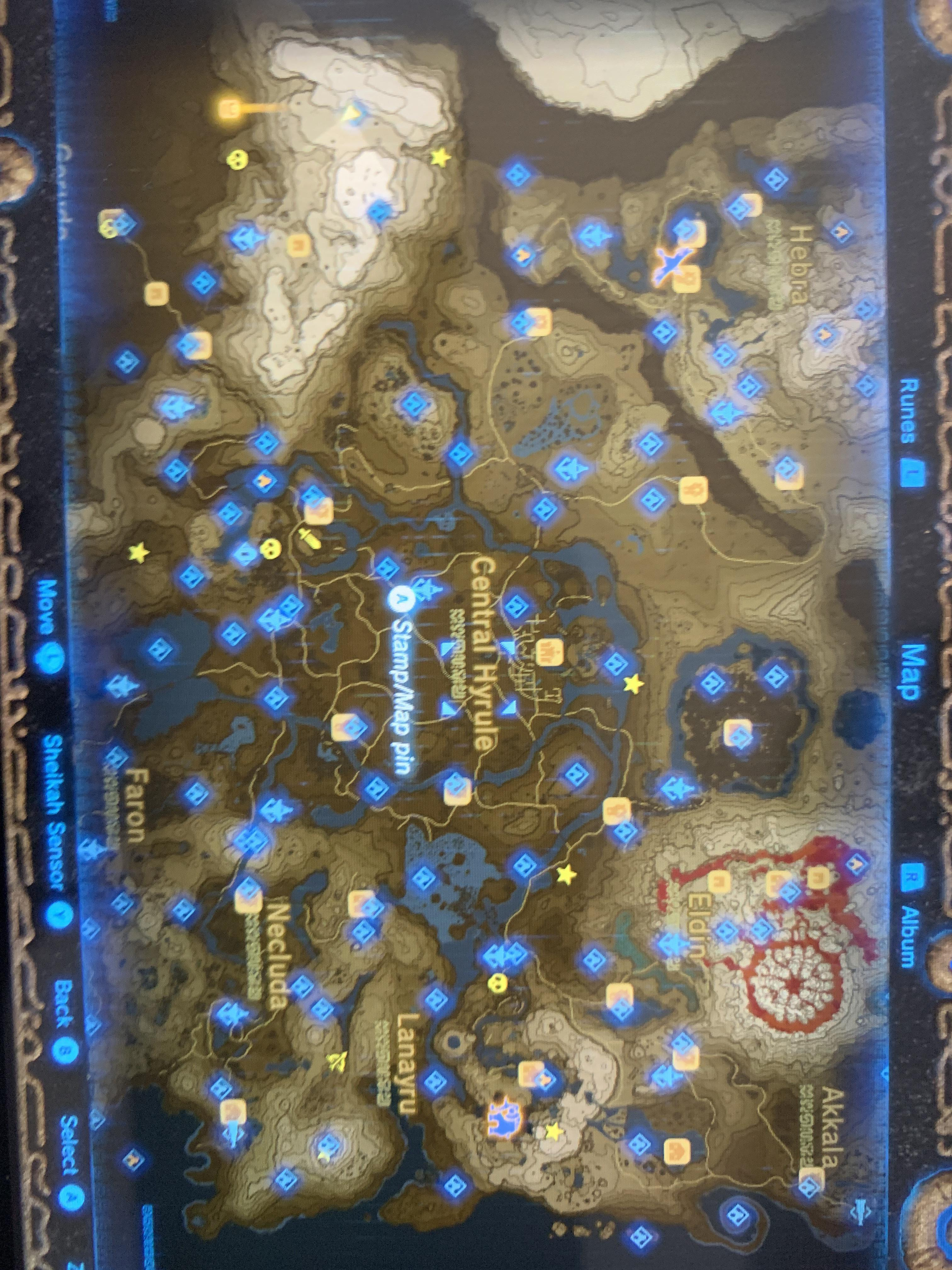 Full Botw Map : Finally,, After, Years,, Finished, Divine, Beasts!, (Because, Coward, Haven't, Breath_of_the_Wild