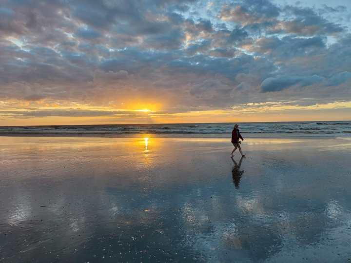 North Sea sunset (1920×1440)