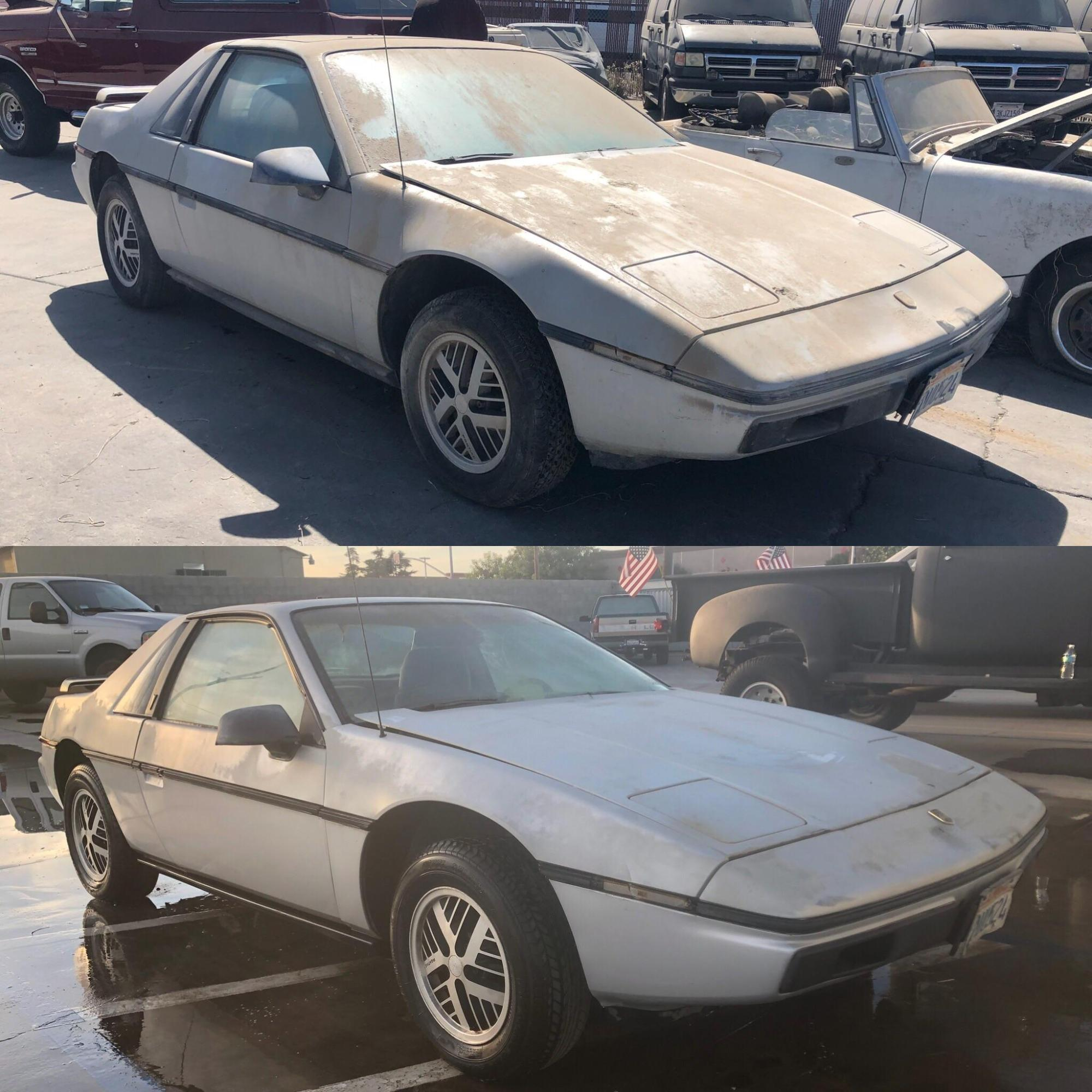 hight resolution of any pontiac fiero guys out there this 1984 has been sitting since 1999