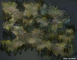 Dark Forest Paths [68 x 53] : Roll20