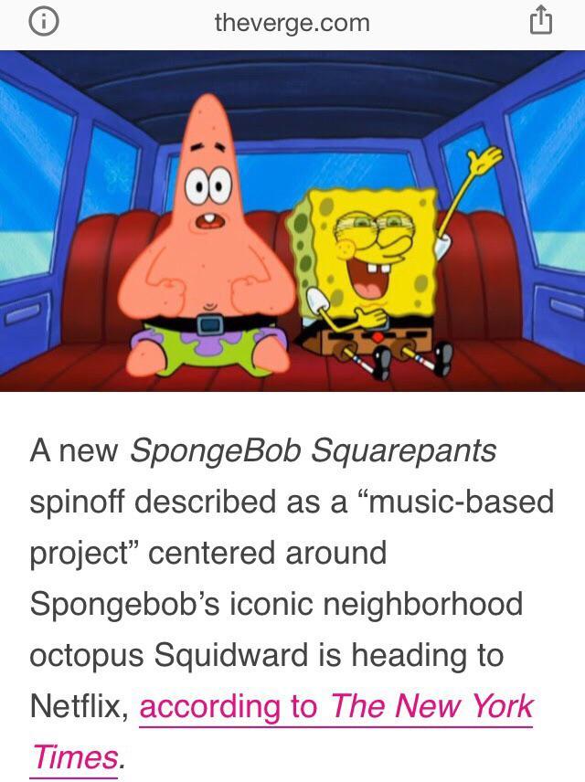 Squidward Spinoff : squidward, spinoff, Clarinet,, Mermaidman!, Musical, Squidward, Spin-off!, BikiniBottomTwitter