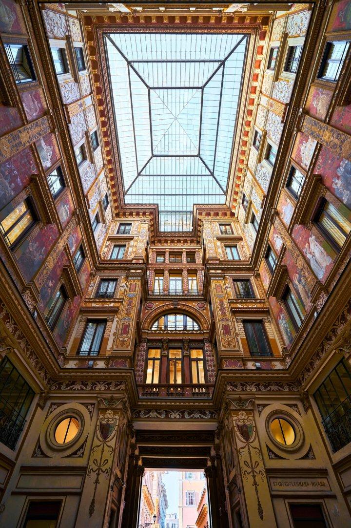 Galleria Sciarra, Rome Italy (Photo credit to Andrea Colarieti)