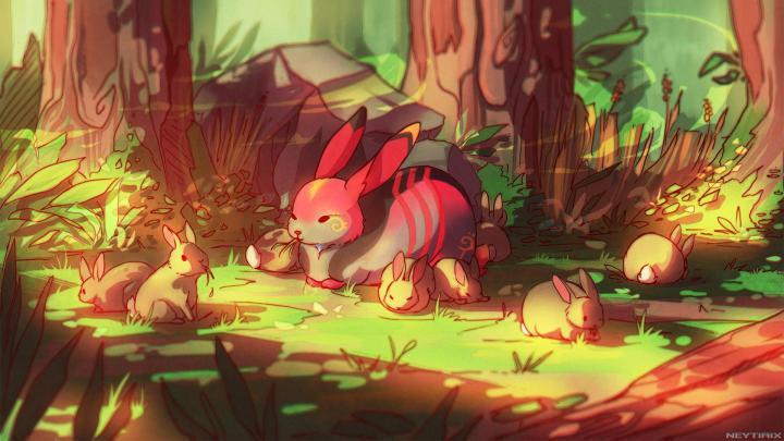 (1920*1080) Bunnies