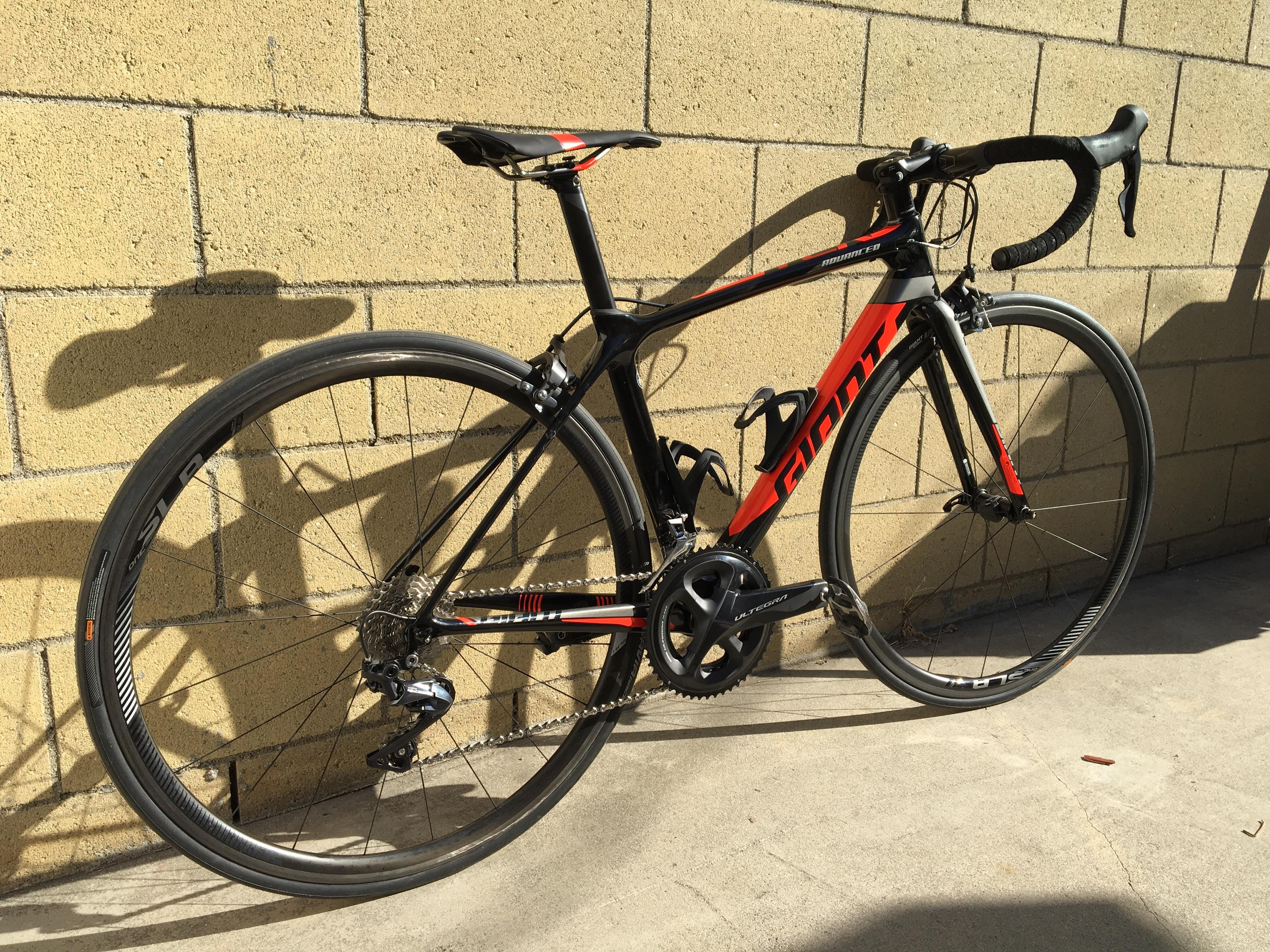 NBD 2018 Giant TCR Advanced Pro 1 xs (I may be short. but I'm long) : bicycling