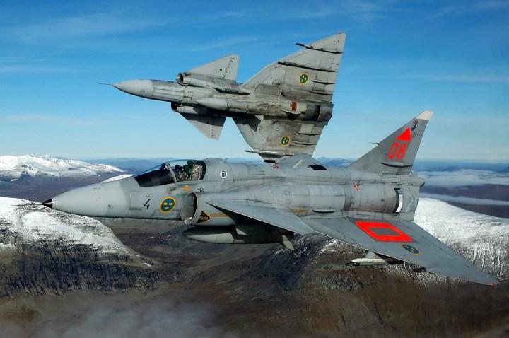 Best Captured Of Saab 37 Viggen 2406×1600