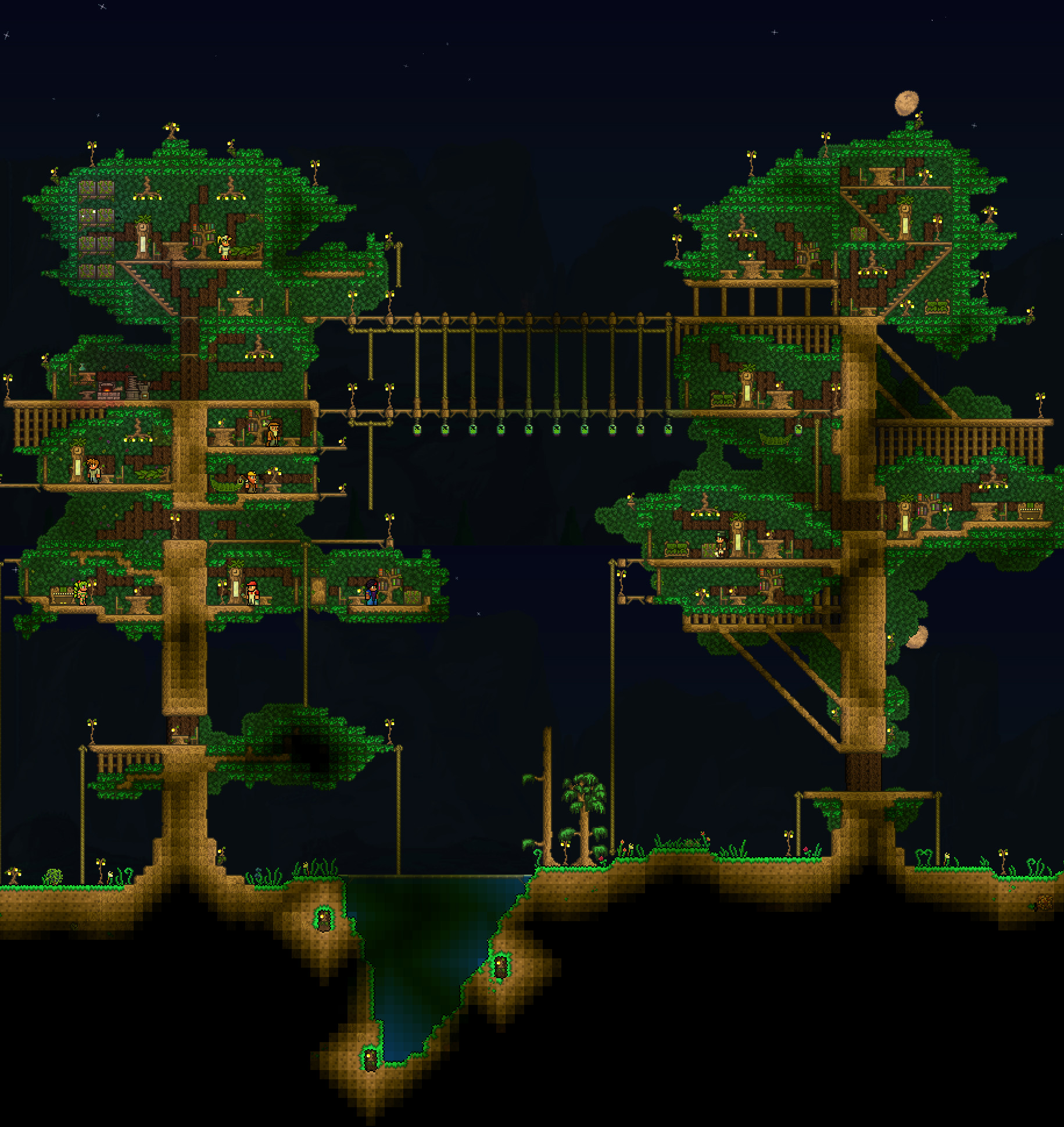 The Best Treehouse I Need To Make One Of This Terraria