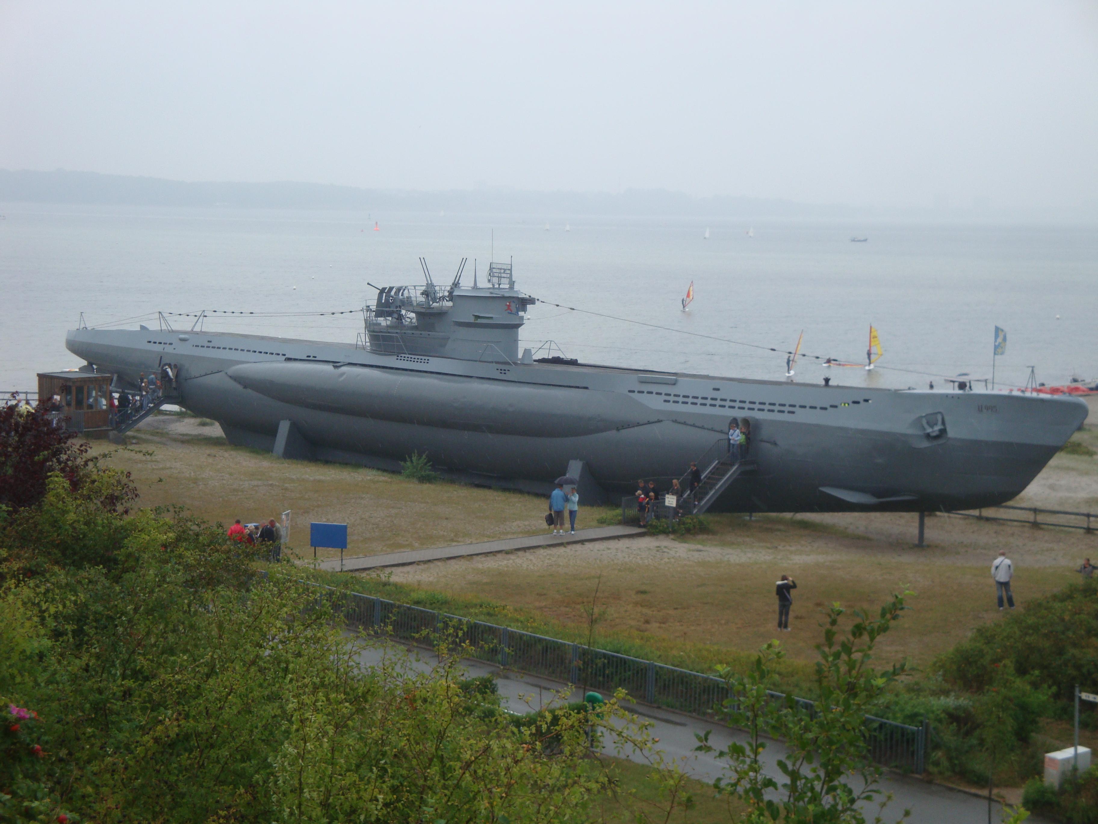 German U Boat U995 At The Laboe Naval Memorial