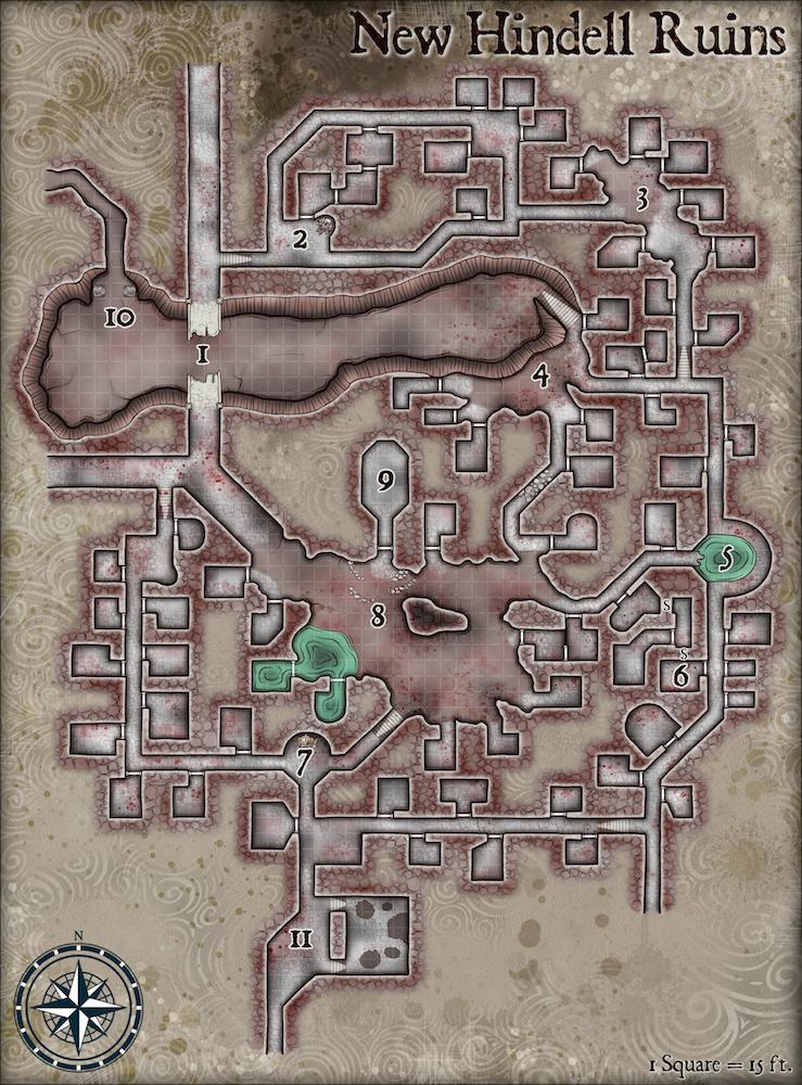 New Londo Ruins Map : londo, ruins, Hindell, Ruins,, Place, Death, Despair, Adventure, DungeonsAndDragons