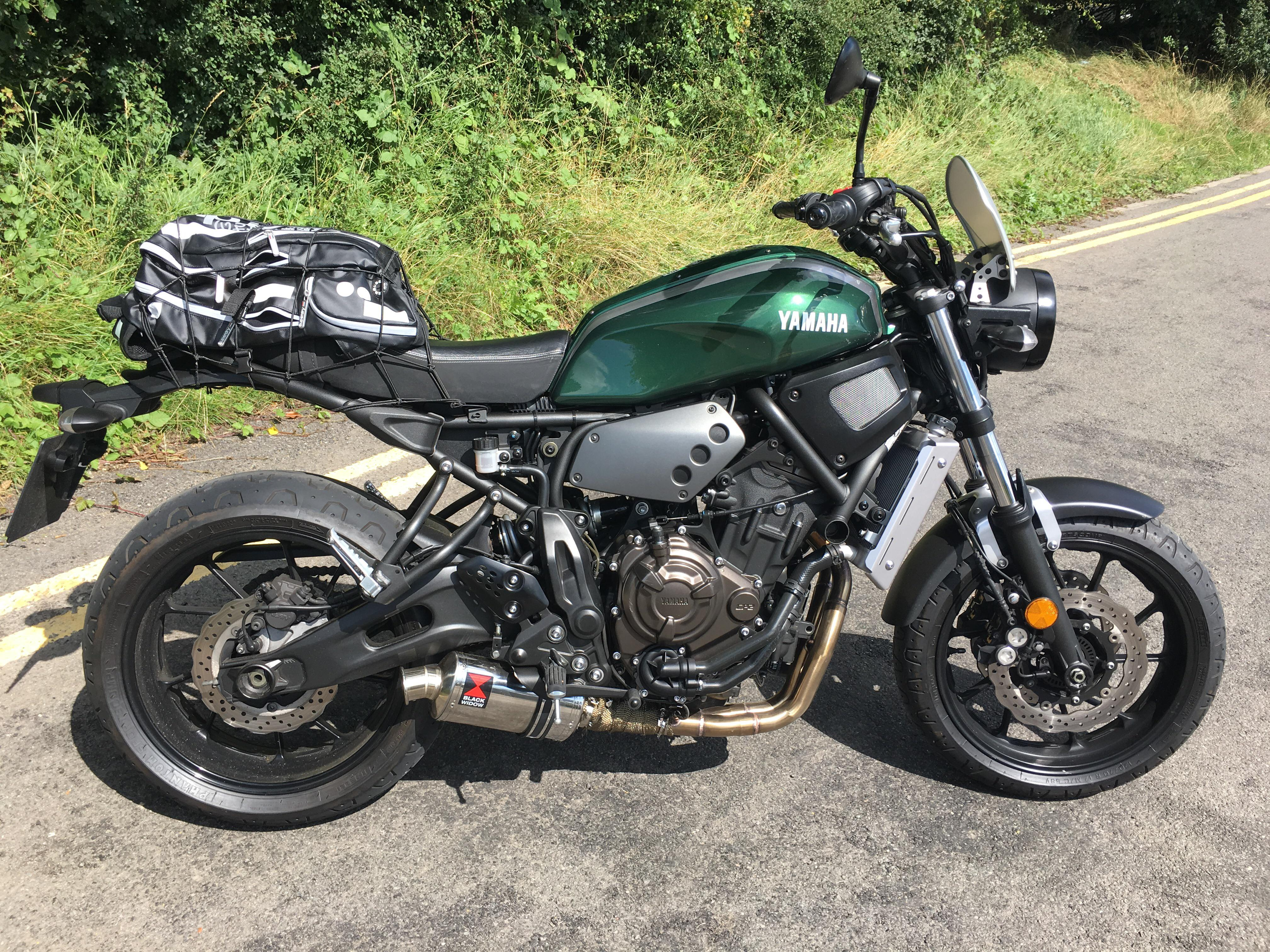 another xsr with black widow exhaust