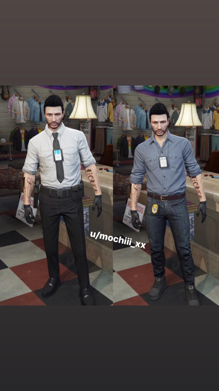 Fitted Suit Jacket Gta : fitted, jacket, Basic, Agent, Outfits, GTAoutfits