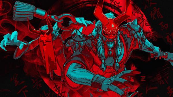 Grimstroke Artwork Zhangtianyu Dota2