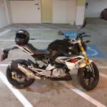 Bmw G310r Cosmic Black Motorcyclefans