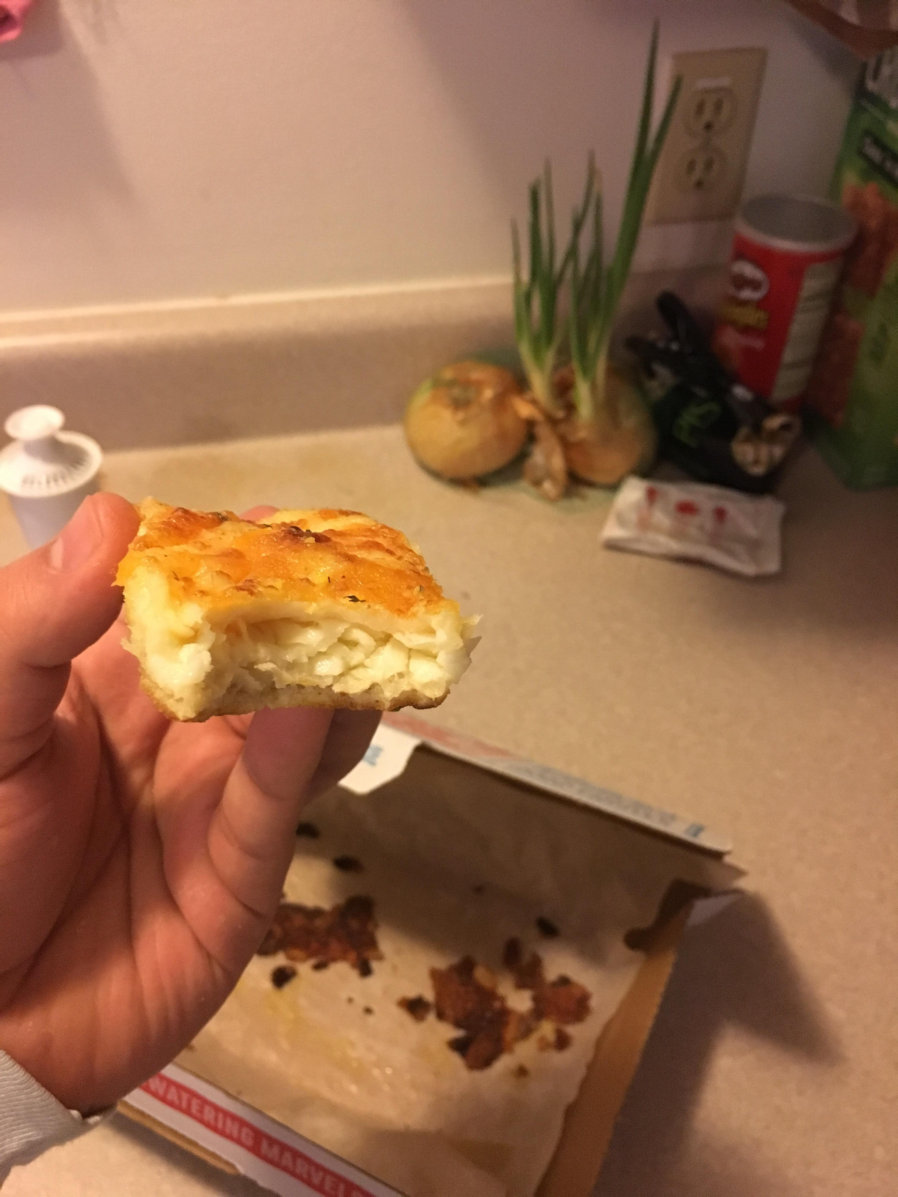 Dominos Cheese Bread Stuffed With Cold Cheese Shittyfoodporn