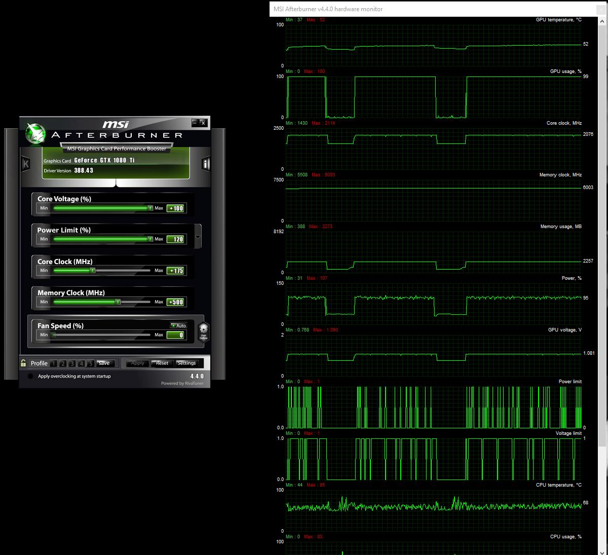 1080 ti power voltage