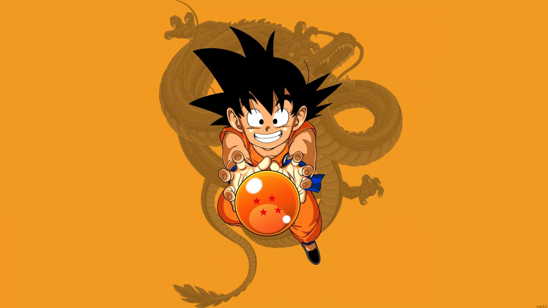 kid goku 1920x1080 minimalwallpaper