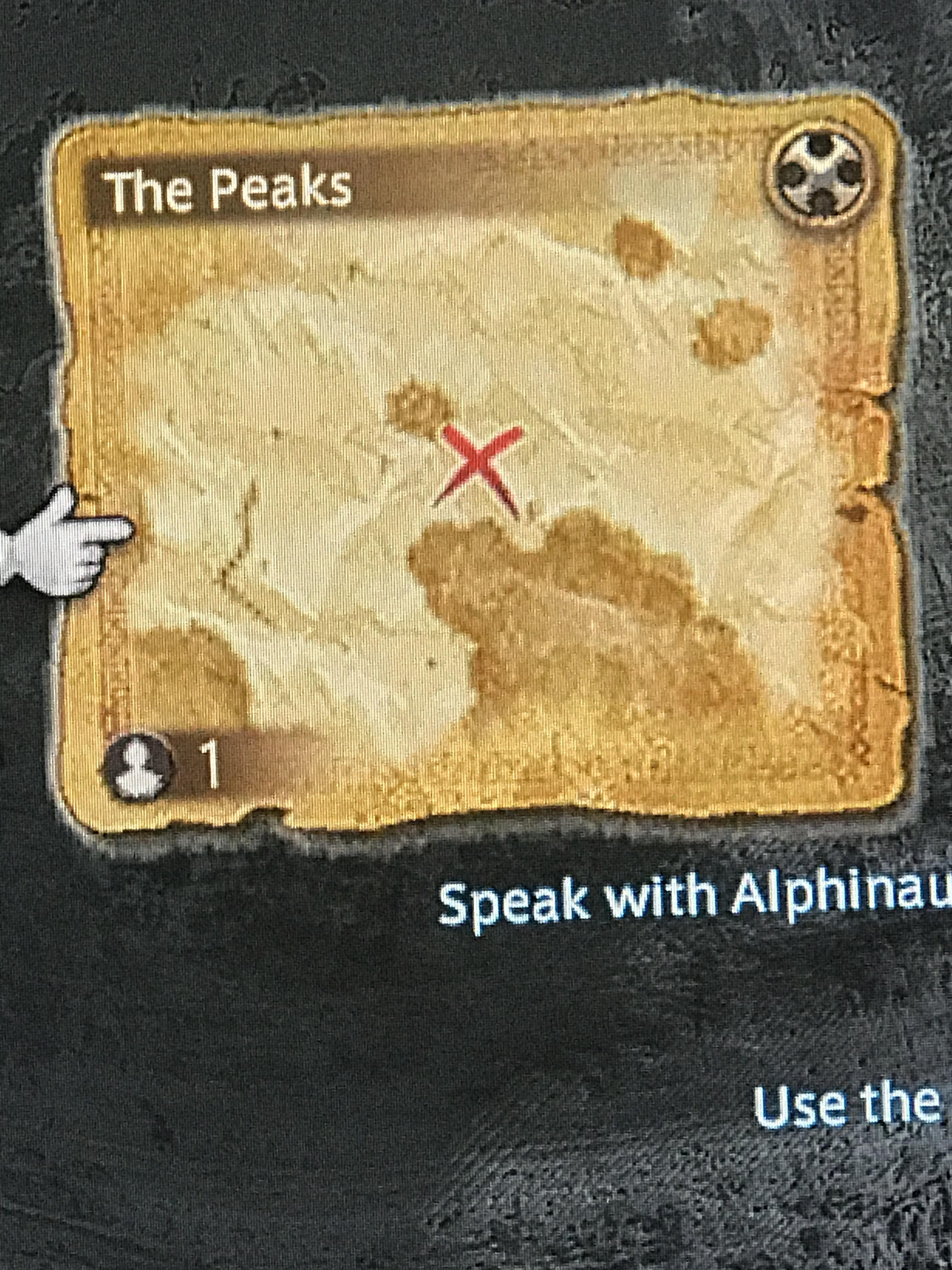 Ffxiv Treasure Maps : ffxiv, treasure, Treasure, Anyone, Where, Peaks,, Because, Spent, Nearly, Looking, Stumped, Ffxiv