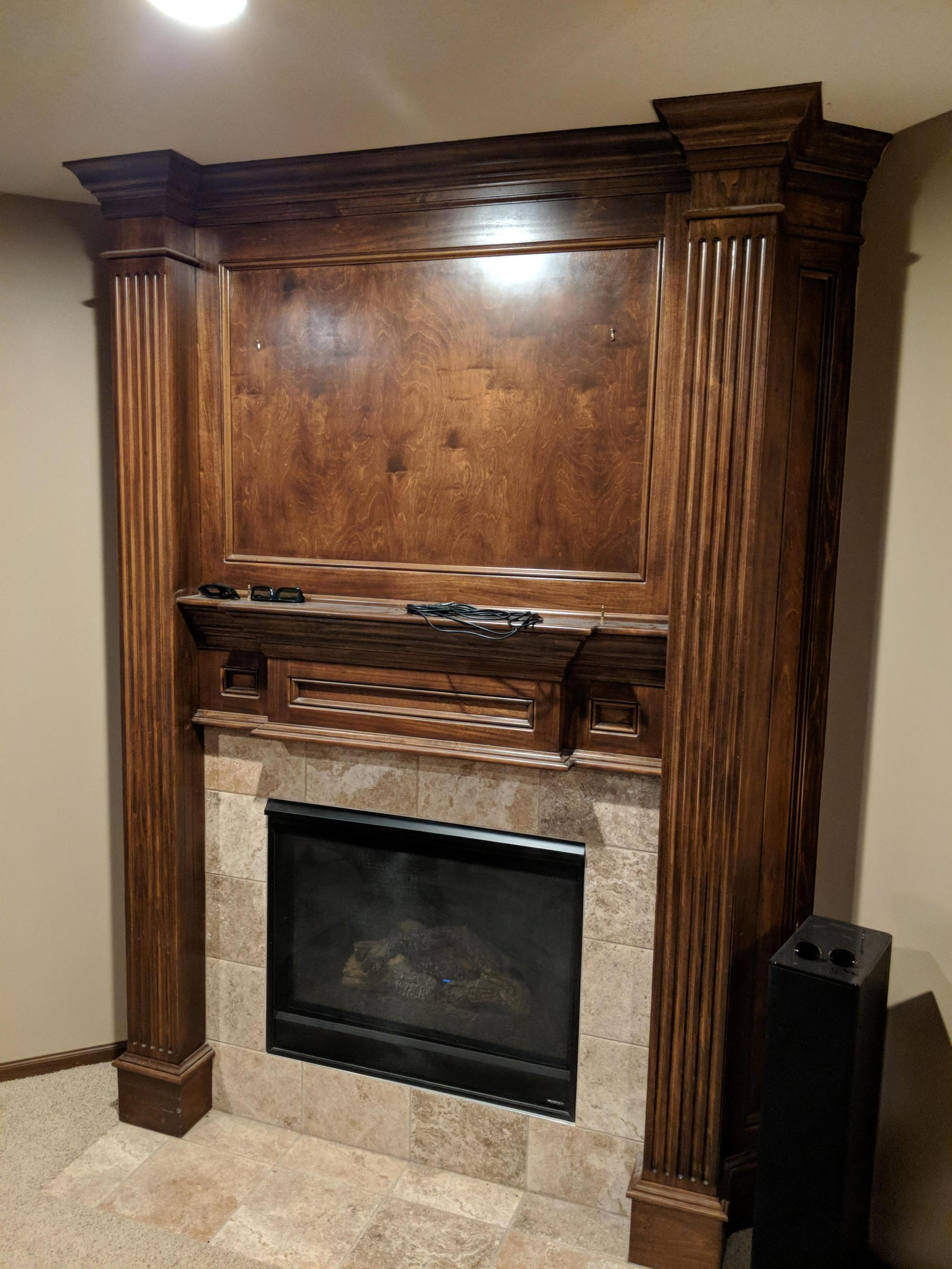 hight resolution of ugh fireplacesbest option for running speaker wire around fireplace