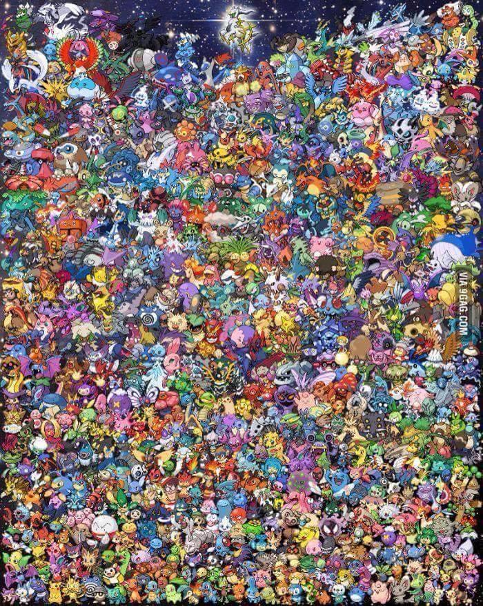 Where's Waldo Pic Without Waldo : where's, waldo, without, Pokémon, Where's, Waldo, Pokemon