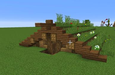 Small Norse house design : Minecraft
