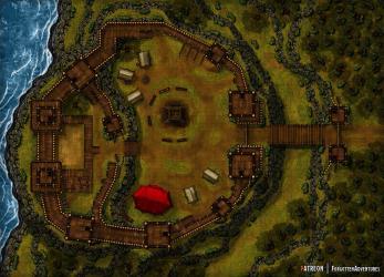 fort battlemap cliffside roll20 night battlemaps versions 50x36 redd waterdeep throne room comments landing pholder