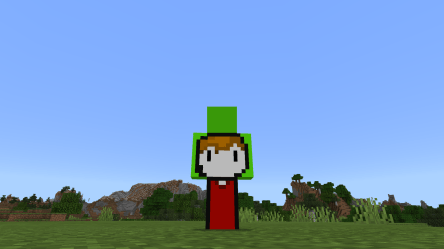 As Follow Up From JebadiahKerman001 s Post I Present To You Drian In Minecraft/ Grian And Dream s Minecraft Skin Combined Download In Comments : HermitCraft