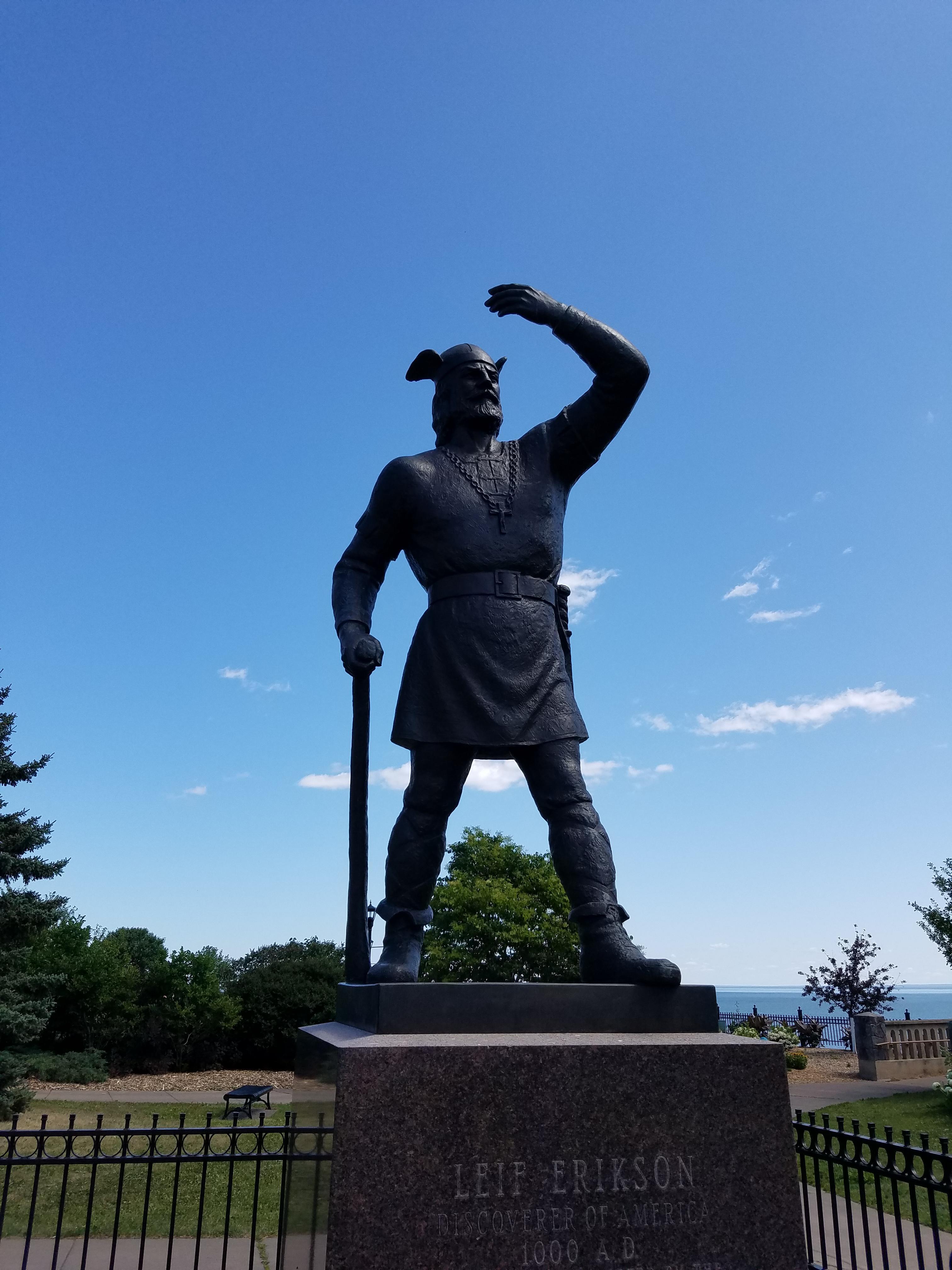 The Original Minnesota Viking Leif Erikson Minnesotavikings