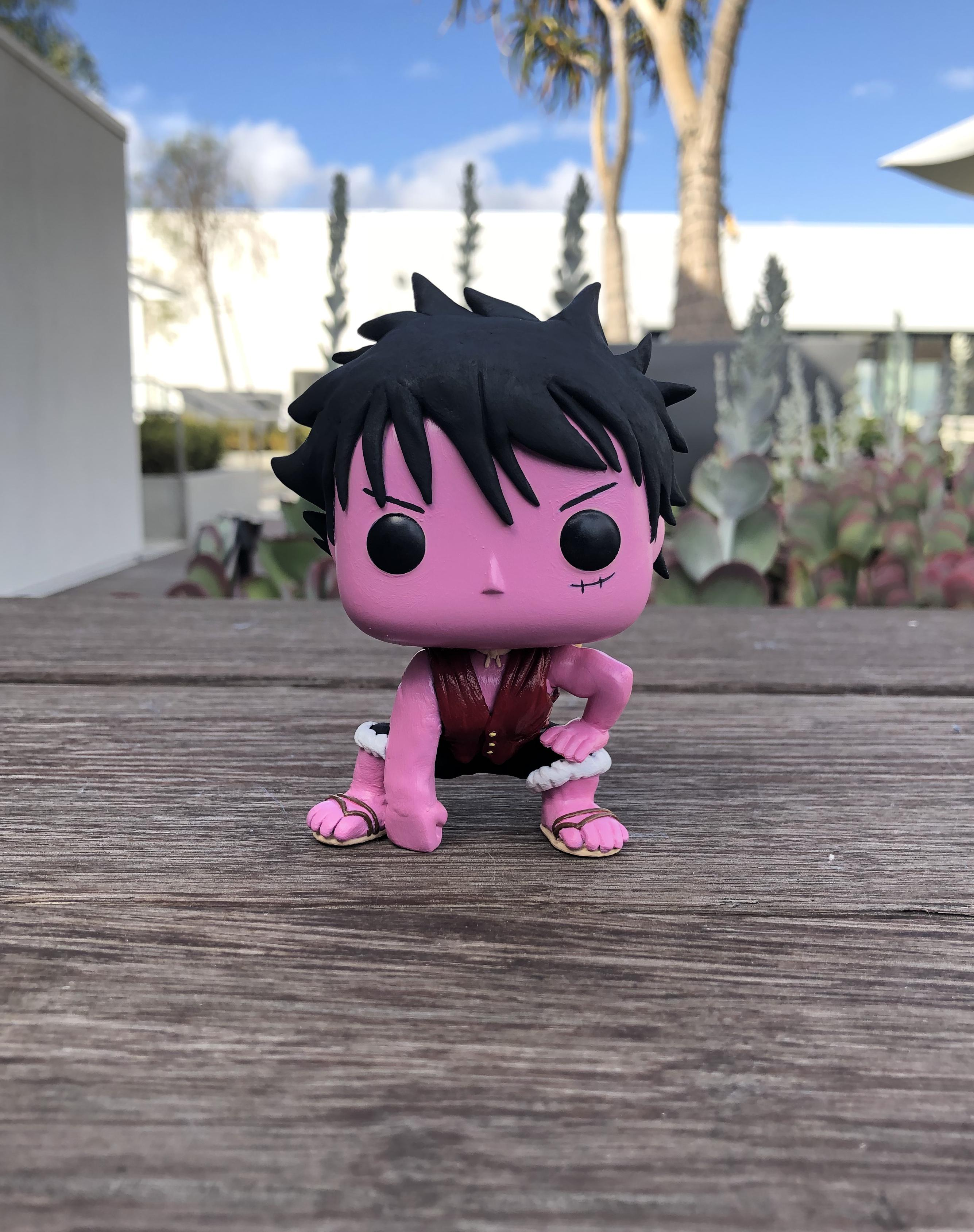 Stay tuned if you want to find it in a shop. Funko Pop One Piece Luffy Gear 4 - The Office Of Funko Pop