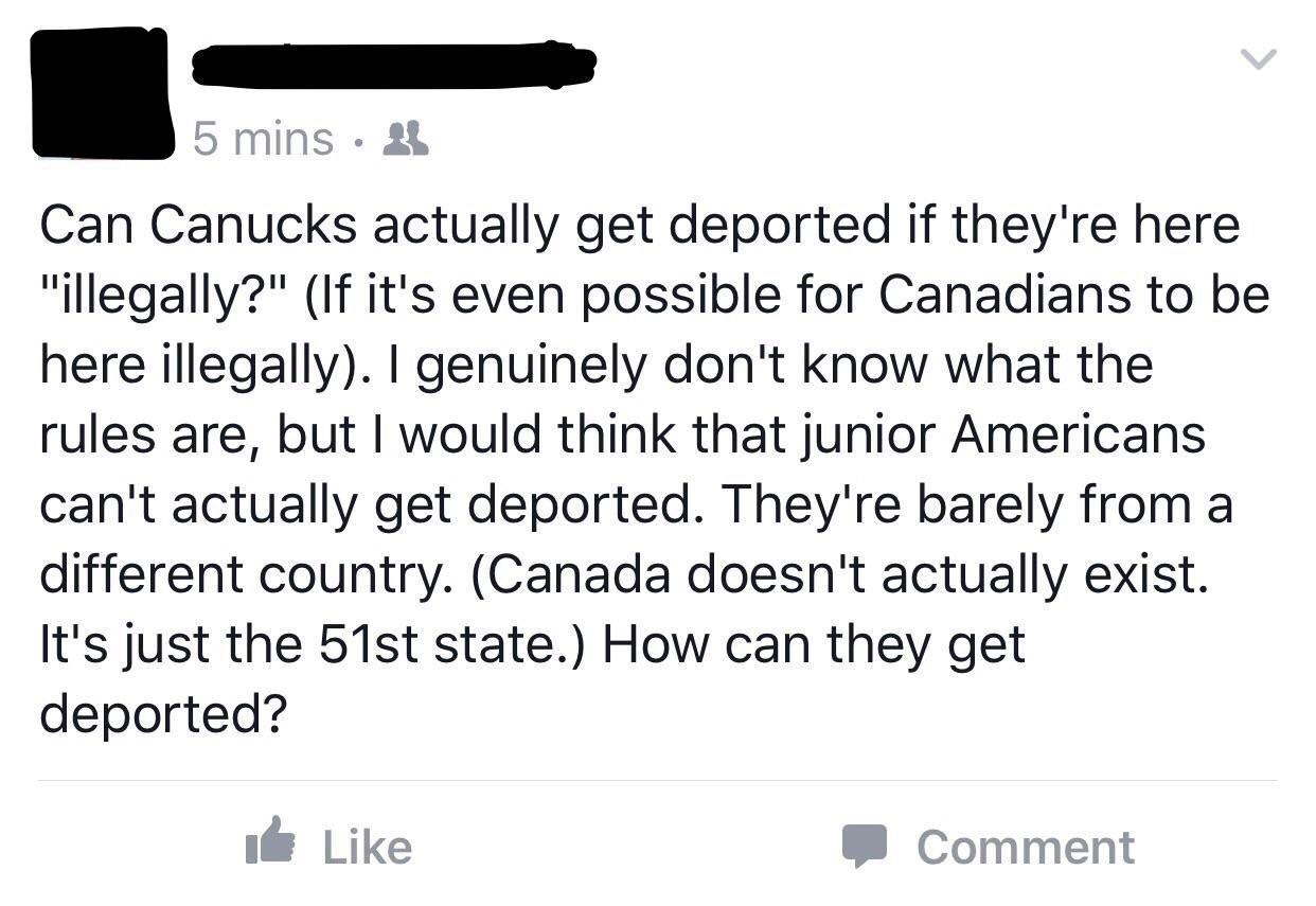 Canada Doesn T Actually Exist Shitamericanssay