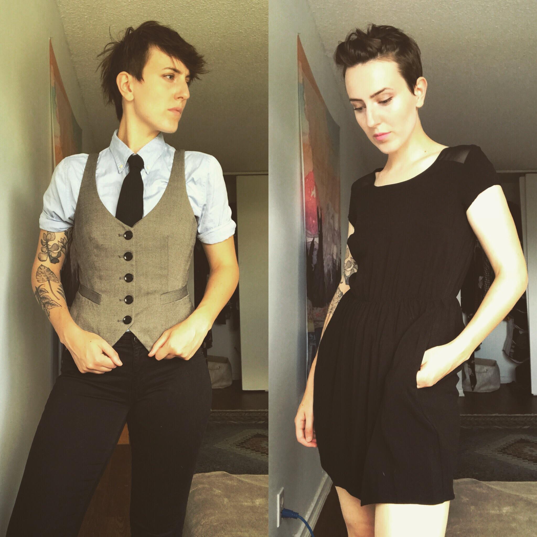 butch femme lesbianactually