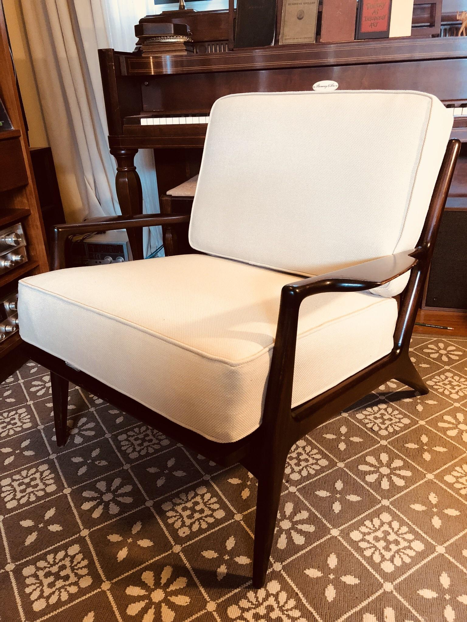 Selig Chair My Ib Kofod Larsen For Selig Lounge Chair Back To It S Former