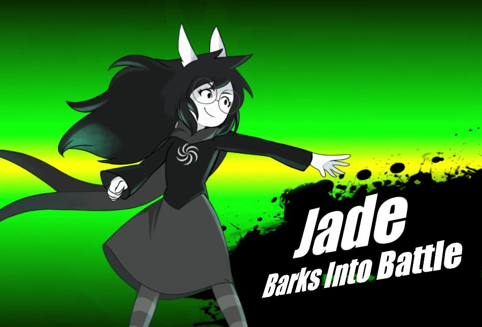 Jade in Smash  homestuck