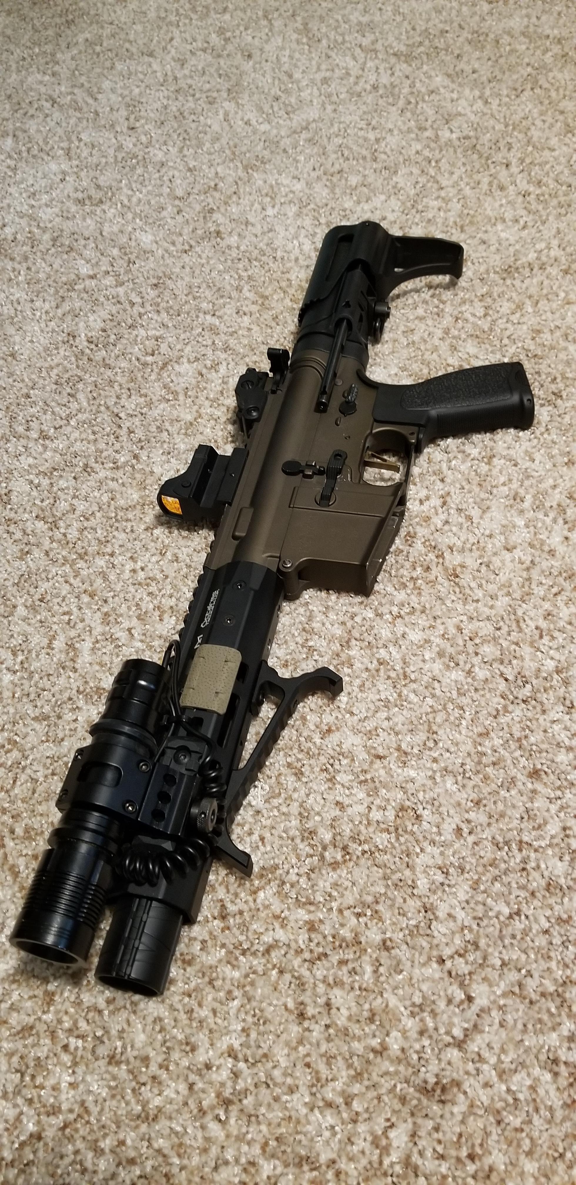 my suitcase gun build